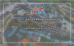 CS-Solution is honor to be the supplier of Smartcard Management System for Ho Tay Water Park