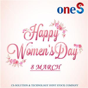 Chúc mừng ngày quốc tế phụ nữ mùng 8 tháng 3