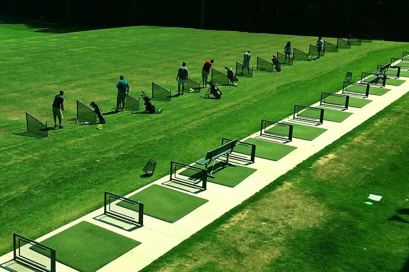 05 ideas with Driving Range to attract golfers